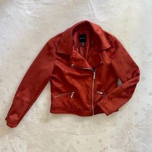 Women's Faux Suede Jacket, Size 6, New Look